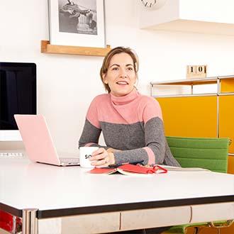 Sharis Büroeinrichtung: stilsicher und effizient